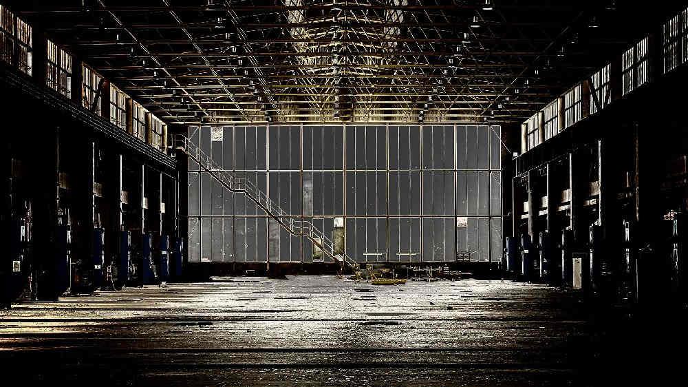 廃墟のような工場