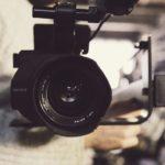 証拠撮影用のソニー製高画質ビデオカメラ